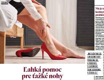 Ľahká pomoc pre ťažké nohy (Relax 04/21)