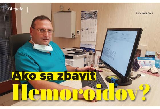 Ako sa zbaviť hemeroidov? (Senior Magazín 01/21)